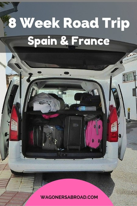 8 week road trip Spain and France