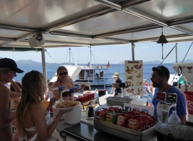 Alcudia-Sea-Trips-Mallorca-Plenty-of-food-and-fun
