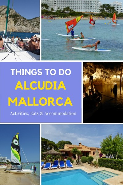 Alcudia Mallorca Things to do and Places to Stay