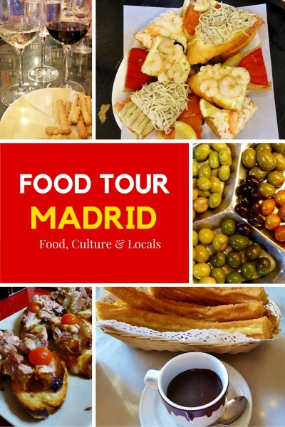 Devour Madrid Food Tour - experiencing all of the gems. They will take you to some of the best restaurants in Madrid, share the history and meet the locals. Read more on WagonersAbroad.com