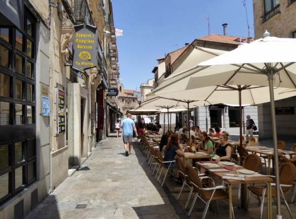 Outdoor dining Salamanca