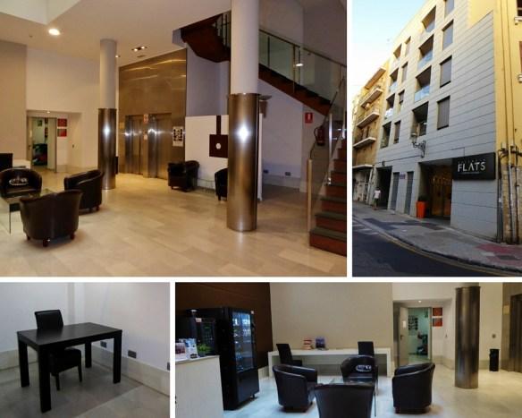 Valencia Flats Centro Ciudad collage