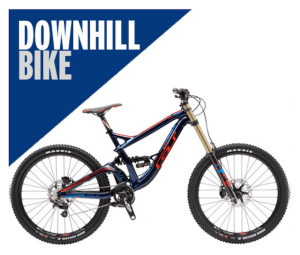 Downhill-mountain-bike