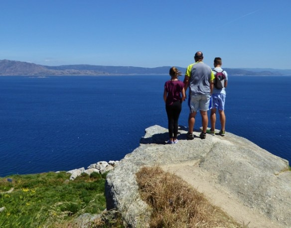 Finisterre Spain Amazing views of the Atlantic Ocean and mainlaind Spain