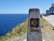 Finisterre Spain end of the Camino