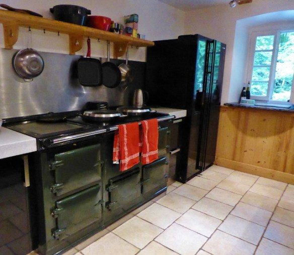 House sit Morzine Aga Cooker