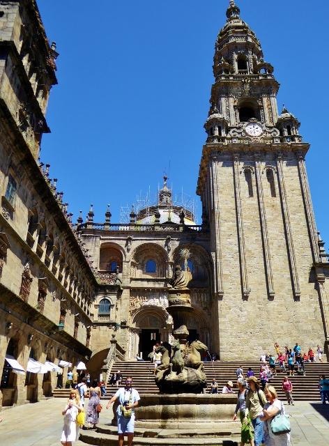 Santiago de Compostela Galicia Spain Cathedral