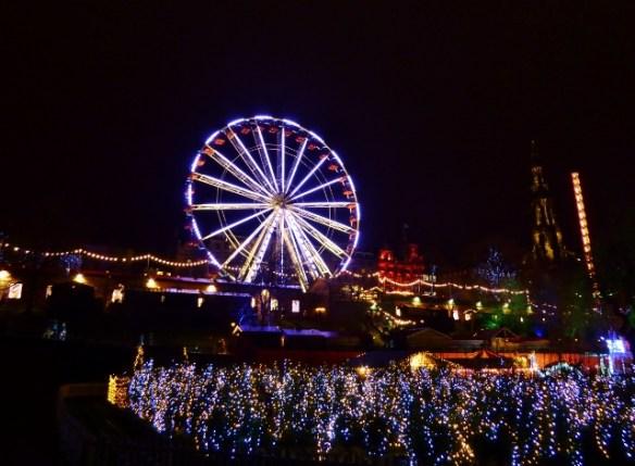 Chirstmas Market and Rides - Christmas tree maze