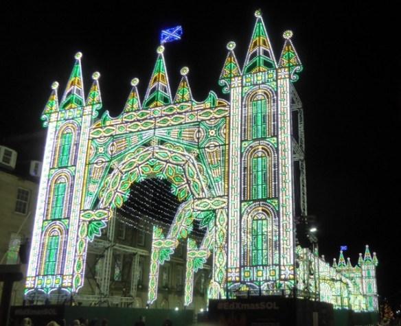 Edinburgh Christmas Street of Lights