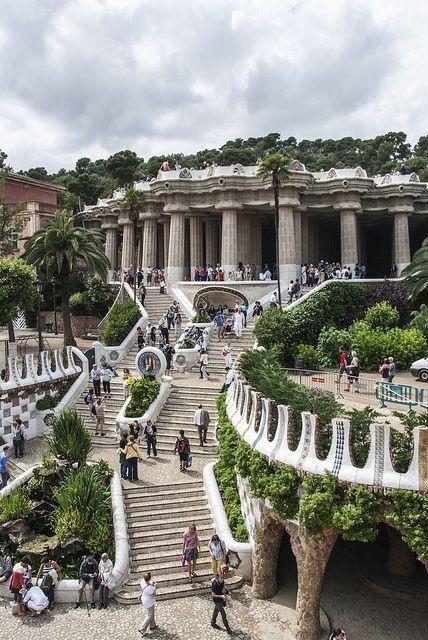 Barcelona by bike - park güell