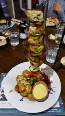 Edinburgh dinner at Zizi's Queensferry street