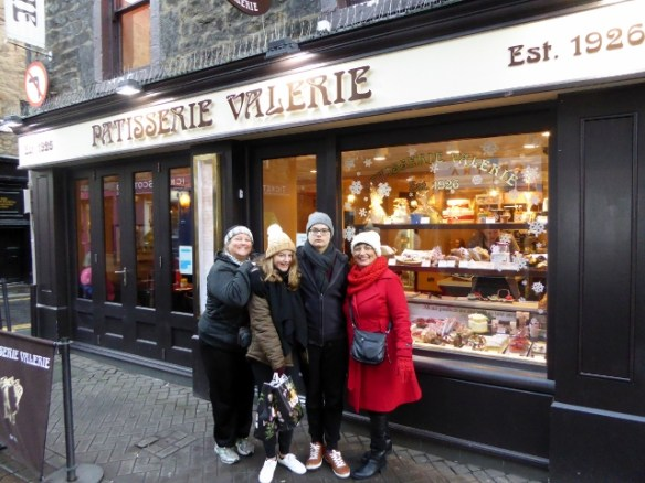 Patisserie Valerie Edinburgh Hot Chocolate and Cakes