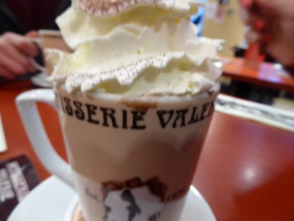 Patisserie Valerie Edinburgh Hot Chocolate