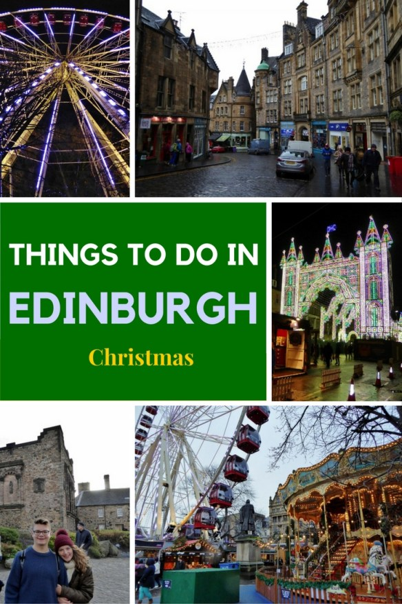 Top 15 Things To Do In Edinburgh during Christmas. Read more on WagonersAbroad.com
