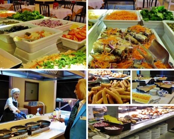Hotel Helios Dinner and Breakfast Buffet
