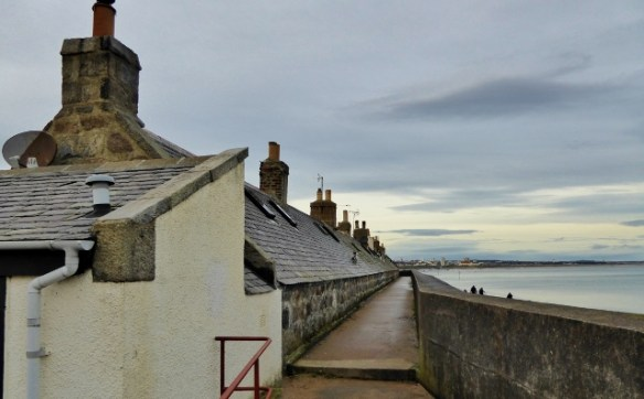 One Of The Best Tiny House Villages Footdee Fittie retaining walls
