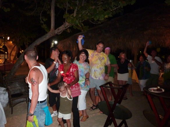 Visit Jamaica and dance in the conga line