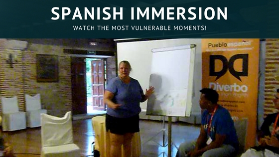 Spanish Immersion - Watch The Most Vulnerable Moments! This time it is all on the line for me, with my Spanish Immersion experience. This time it's all on video, with journals, skits, presentations & more! Read more on http://WagonersAbroad.com