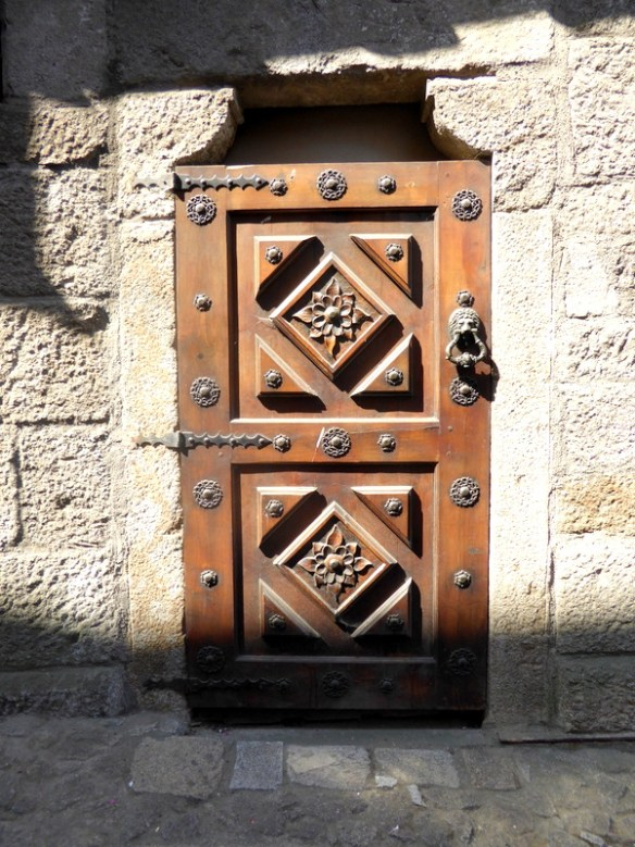 A random door in La Alberca Spain