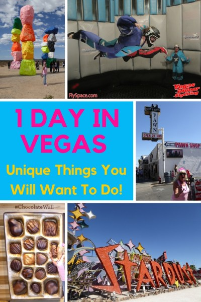 If you only have 1 Day In Vegas and want to get out of the main tourist area, then we have some great plans for you!  We spent the majority of the day away from the strip or Fremont Street and wanted to see another side of Las Vegas.  As an added bonus you will also see how we like to give gifts in a unique way.  This was a full day planned to surprise Gma Bev for her 75th Birthday in Vegas! Read more on WagonersAbroad.com