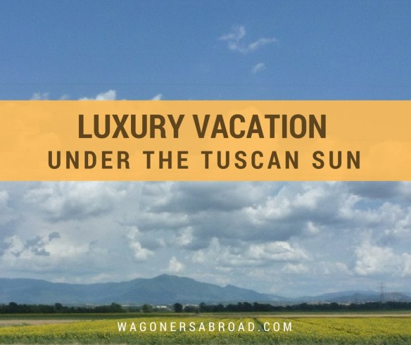 A Dream Luxury Vacation Under The Tuscan Sun. Read more on Wagoners Abroad.com