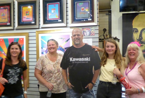 Gma Bev 75 Bday Gold & Silver Pawn shop from Pawn Stars TV Show