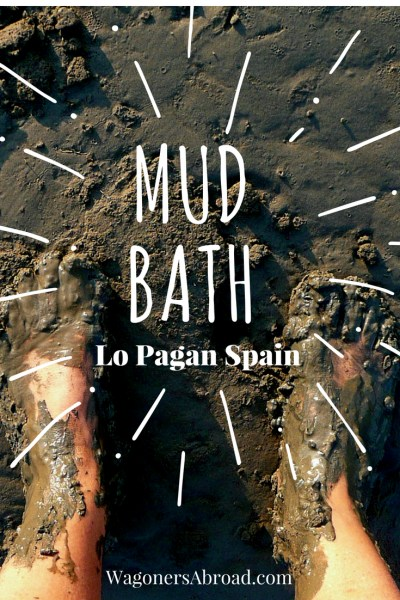 Lo Pagan Mud Baths! How To Take A Mud Bath in Costa Blanca Spain. Complete instructions on what to do and how to get to the Lo Pagan mud baths Costa Blanca Spain. It is free, fun and it makes you feel great. Read more on WagonersAbroad.com