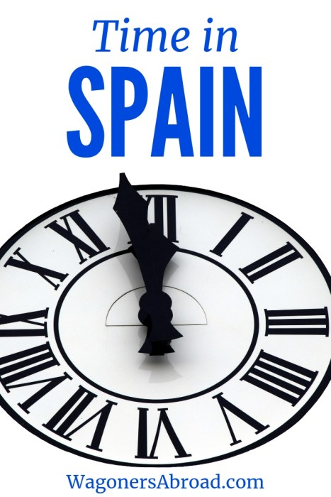 Sometimes it's difficult to figure out the current time in Spain, as it doesn't line up with the timezone. Alan describes Spain time with a sense of humor. Read more on WagonersAbroad.com