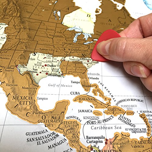 The Best Scratch Off Map Of The World Or Usa A Great Gift - Us-scratch-map