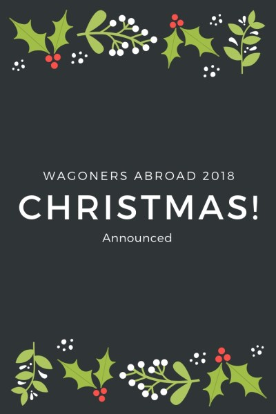 It looks like Christmas 2018 is taking us back to one of our most magical Christmas trips.  With dazzling lights in every direction, stunning scenery, a great city vibe, Christmas Markets, crepes, hot chocolate and baguettes too! Read more on WagonersAbroad.com