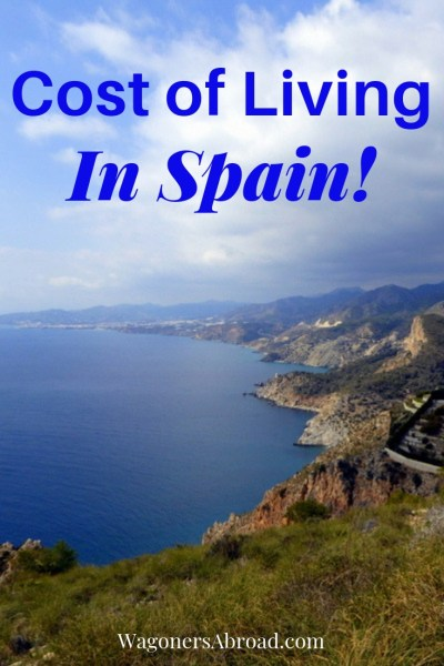 Cost of Living In Spain 2019. We will share detailed information about the cost of living in Spain. Including groceries, utilities, rent, braces, phones, internet and rental cars in Spain. Read more on WagonersAbroad.com