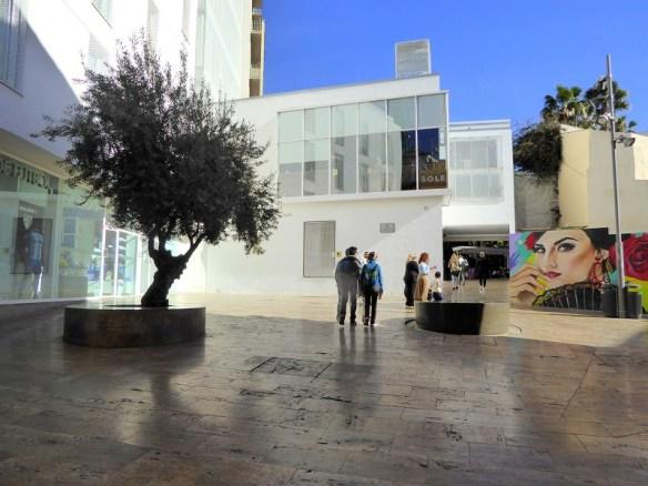 Plaza de la Juderia - Malaga jewish plaza