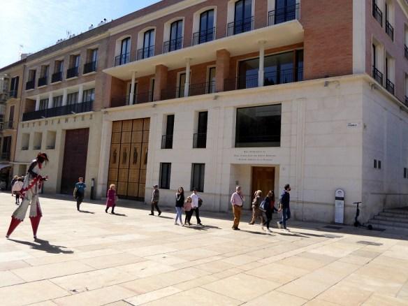 Malaga semana santa garage doors