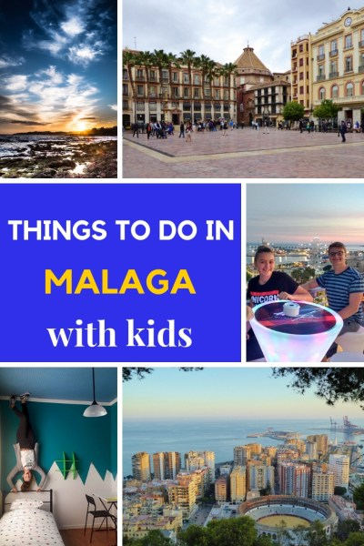 v. Looking for things to do in Malaga?  Here's a great list of Malaga Spain things to do with kids. Including, plazas, parks, food, history, excitiement & more. Read more on WagonersAbroad.com