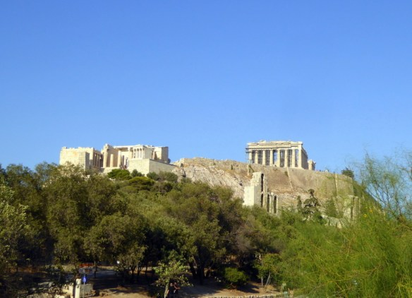 Athens Acropolis and Partenon