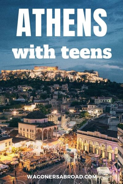 4 days in Athens with teens! Guide to things to do, see, eat, sleep and enjoy. It's a guide for everyone, with the things our teens chose to do.  Read more on WagonersAbroad.com