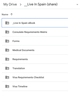 Live-In-Spain-Google-Drive