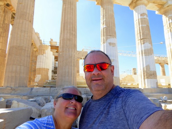 Heidi and Alan Wagoner Athens Greece