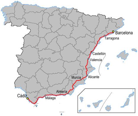 N340 - The Longest Road in Spain!