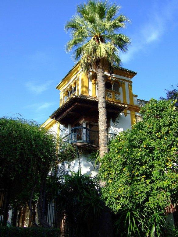 seville-Stroll through the Jewish Quarter of Santa Cruz. Read more on WagonersAbroad.com
