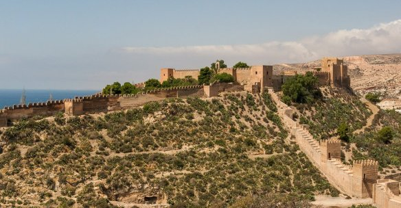 Costa de Almeria - alcazaba-of-almeria Read more on https://wagonersabroad.com