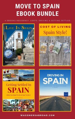 Move to Spain ebook bundle with 15 min consulting