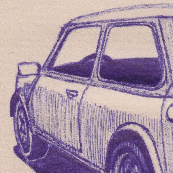 Mini Cooper (detail)