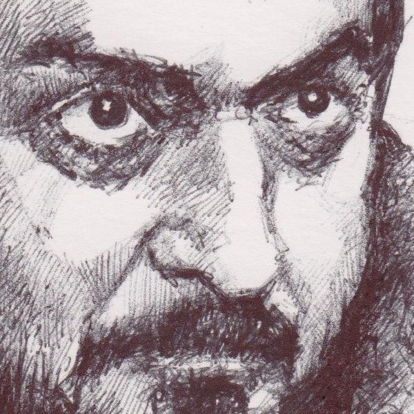 Stanley Kubrik (detail)