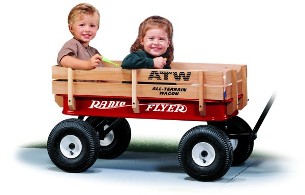 Wagon Road Test Radio Flyer Metal -terrain Steel And Wood #32 Wagonworld