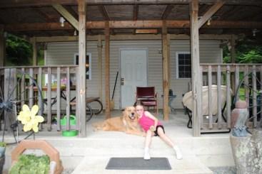 Morgan & Howie at Summer Camp
