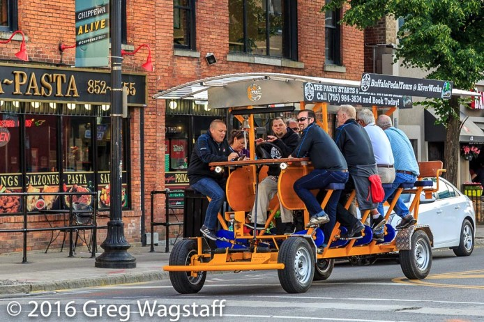 Pedal to the Pubs in Buffalo