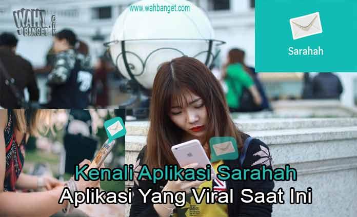 Aplikasi Snapchat Sarahah Yang Viral Main Display sarahah