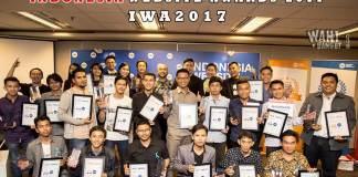 Wahbanget Raih Penghargaan Indonesia Website Awards 2017 Di EV Hive City, Jakarta Amazing