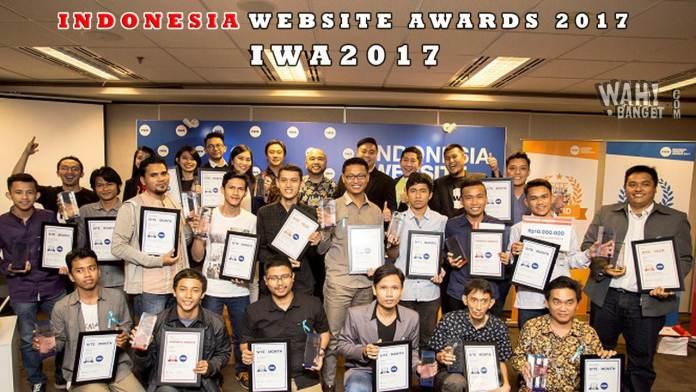 Wahbanget Raih Penghargaan Indonesia Website Awards 2017 Di EV Hive City, Jakarta Amazing-Wahbanget.com
